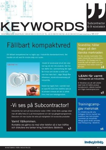 Keywords 2007:4