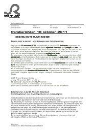 Persberichten 18 oktober 2011 - Stad Roeselare