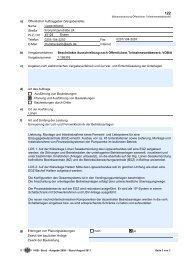 a) Öffentlicher Auftraggeber (Vergabestelle) - Die Vergabeplattform ...
