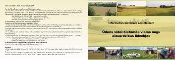 8 ukininkams LT LV.indd - Baltijas Vides Forums