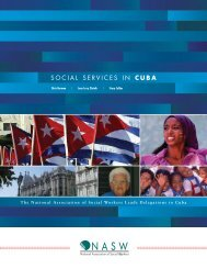 SOCIAL SERVICES IN CUBA - National Association of Social Workers