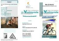 Kijk voor meer informatie in deze folder - WV Otto Ebbens