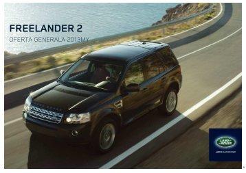 lista optiunilor - Land Rover