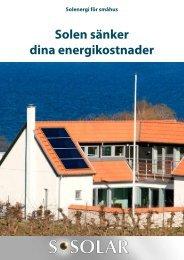Solen sänker dina energikostnader - NDH Marketing