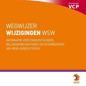 WegWijzer wijzigingen WSW - Per Saldo