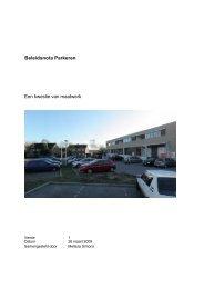 Bijlage Parkeerbeleidsplan - GroenLinks Drimmelen