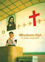 Missions-Nyt nr. 2 - 2008 med billeder - Missionsfonden