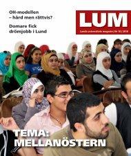 LUM nr 10 2010/11 - Humanekologi Lunds universitet