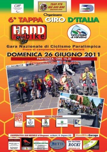 6° Tappa del Giro d'Italia di Handbike
