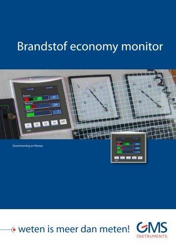 Brandstof economy monitor - GMS Instruments