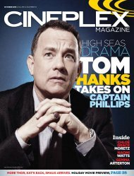 Cineplex Magazine October2013