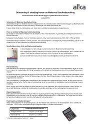 Orientering til arbejdsgivere - Dansk Byggeri - SOS International