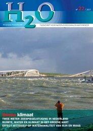 thema klimaat - H2O - Tijdschrift voor watervoorziening en ...