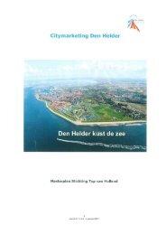 Masterplan citymarketing.pdf - Gemeenteraad - Gemeente Den Helder