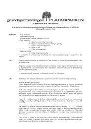Referat af ordinær generalforsamling den 26. maj 2011