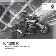 Prijslijst K 1300 R - Motor Houtrust
