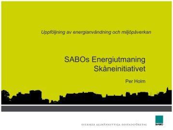 Länk till presentationen på hemsidan - Sabo