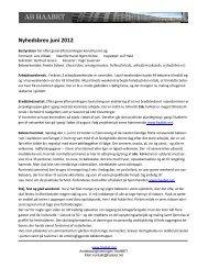 Læs bestyrelsens juni-nyhedsbrev her - Haabet
