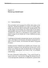 Kapitel 11 - Euroen og renteniveauet
