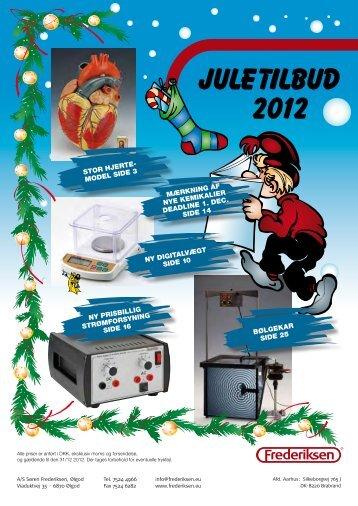 Juletilbud 2012 - Frederiksen