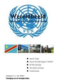 editie 2009/2 - Vereniging voor Verenigde Naties