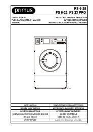 RS 6-35 FS 6-23, FS 23 PRO - Clean Machine (UK)