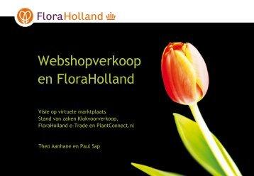 Stand van zaken Virtuele Marktplaatsen FloraHolland - Florecom