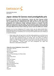 Japan väntas få Cannes mest prestigefulla pris