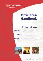 Officieren Handboek - Brandweer