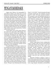 Opinio Juris Volume 4 ini merupakan Ju - e-Library System | Digital ...