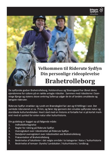 Brahetrolleborg - lang - Riderute Sydfyn