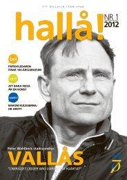 hallå! Nr 1 2012 - Halmstad Fastighets AB