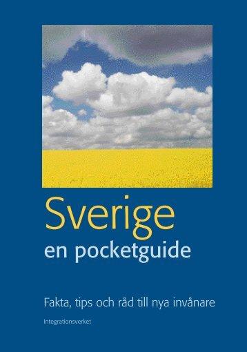 Sverige - en pocketguide - svenska - Till Immigrant-institutets hemsida