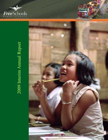 FreeSchools 2009 Annual Report - FreeSchools World Literacy