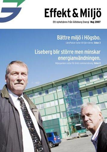 Effekt & Miljö - Göteborg Energi