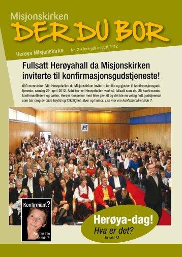 DER DU BOR - Herøya misjonskirke