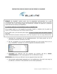 Instructions for updating 5 5 BlueMe SW version - Ver 1_nl.0 - Lancia