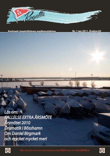 Regatta nr 1 2011 - Karlstads Segelsällskap