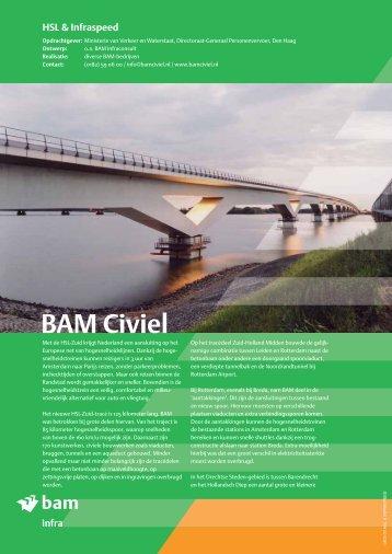 infra HSL & Infraspeed - BAM Civiel