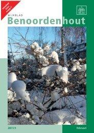 2011/1 - Wijkvereniging Benoordenhout