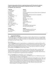 2. Concept verslag bestuursvergadering 23 september 2011