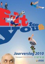 jaarverslag 2010 - Convenant Gezond Gewicht