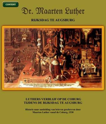 Geschriften van Maarten Luther