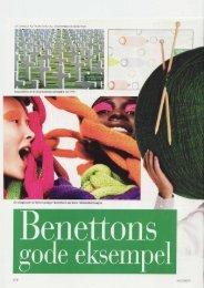 En eksplosion af farver preger Benettons seneste ... - Camilla Alfthan