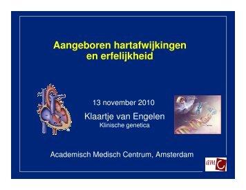 Aangeboren hartafwijkingen en erfelijkheid - Patientenvereniging ...