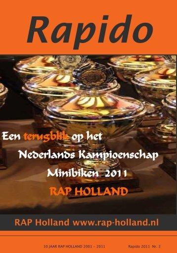RAPIDO 2011 Nr. 3 - RAP-Holland