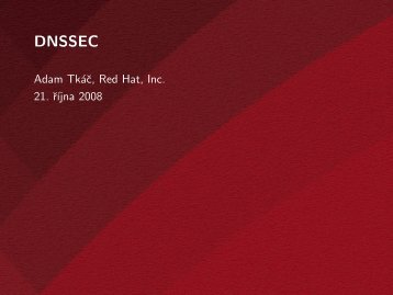 DNSSEC - Red Hat People