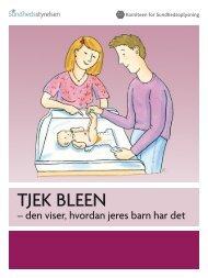 Tjek bleen - Sundhedsstyrelsen