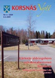 Nr 3-09 - Korsnäs kommun