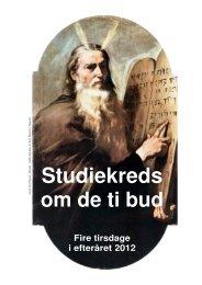 Studiekreds om de ti bud - Longelse Kirke
